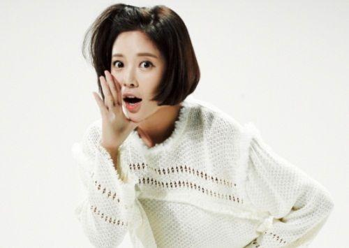 Foto Cantik Hwang Jung-eum 3