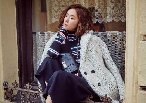 Foto Cantik Hwang Jung-eum 6