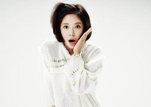 Foto Cantik Hwang Jung-eum 7