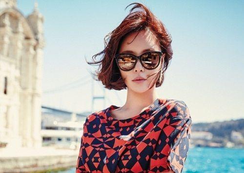 Foto Cantik Hwang Jung-eum 8