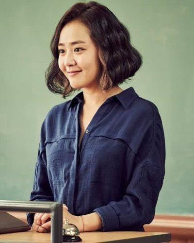 Foto Moon Geun-young dalam The Village