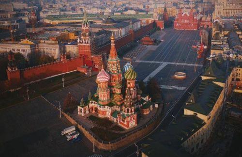 Foto-foto Keindahan Benteng Kremlin di Rusia – Setangkai