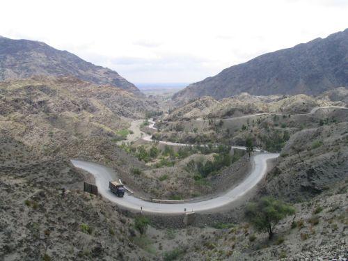 Gambar Celah Khyber di Afghanistan