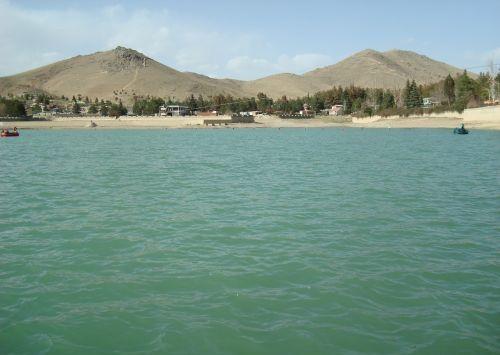 Gambar Dam Qargha di Afghanistan