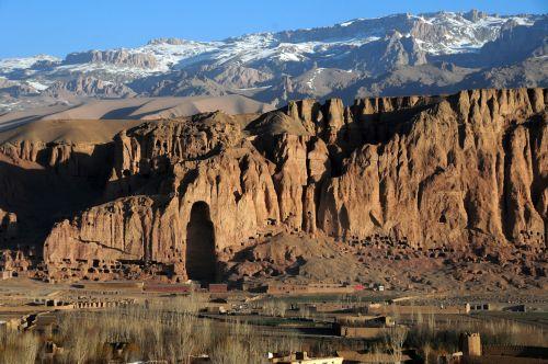 Gambar Lembah Bamyan di Afghanistan