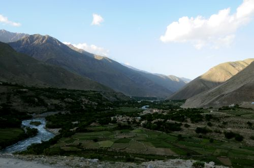 Gambar Lembah Panjshir di Afghanistan