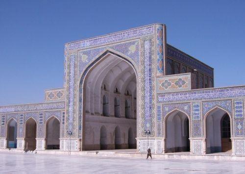 Gambar Masjid Jami Herat di Afghanistan