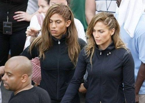 Jennifer Lopez (Music Video Stunt Double)