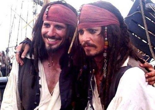 Johnny Depp (Pirates of the Caribbean)