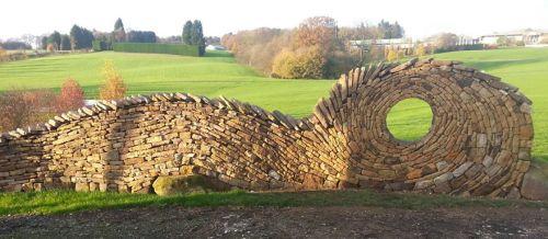 Desain Batu dan Bata Mozaik dan Spiral 1