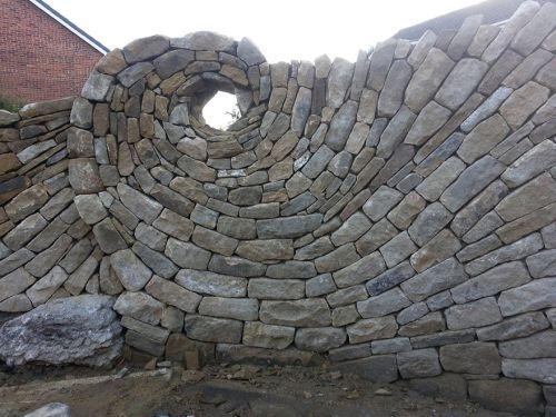 Desain Batu dan Bata Mozaik dan Spiral 2