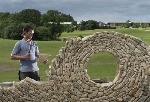 Desain Batu dan Bata Mozaik dan Spiral 4