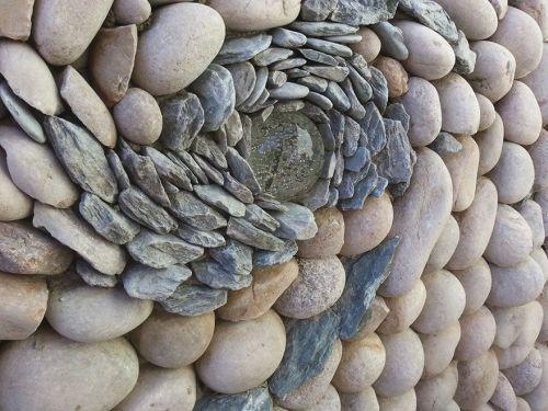 Desain Batu dan Bata Mozaik dan Spiral 5