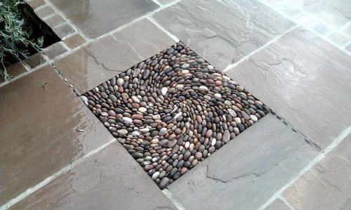Desain Batu dan Bata Mozaik dan Spiral 8