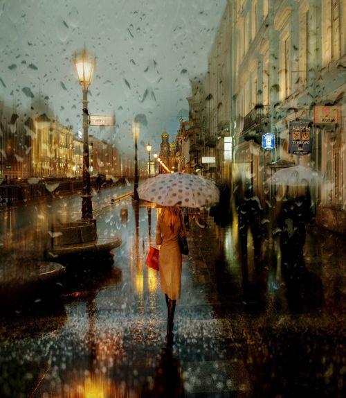 Foto-foto Hujan yang Blur dan Indah 1