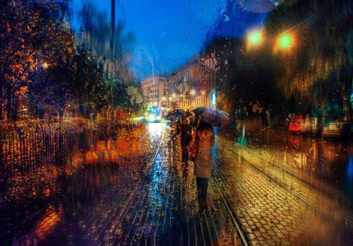 Foto-foto Hujan yang Blur dan Indah 9