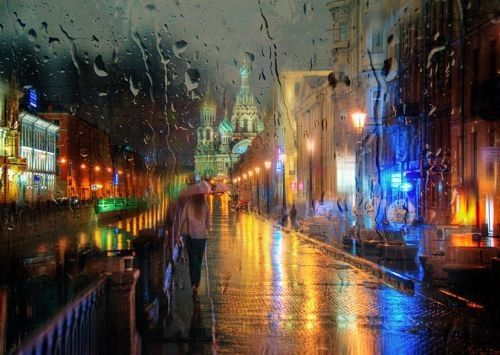 Foto-foto Hujan yang Blur dan Indah