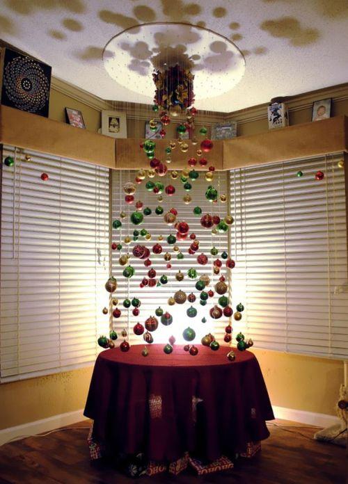 Foto Ide Desain Pohon Natal Paling Kreatif, Indah, dan Lucu 1