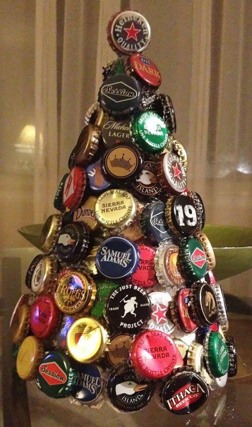 Foto Ide Desain Pohon Natal Paling Kreatif, Indah, dan Lucu 17