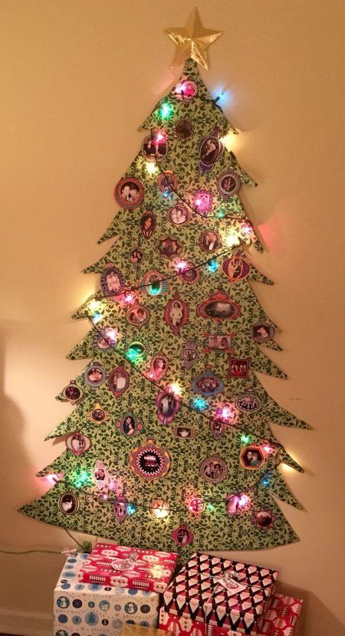 Foto Ide Desain Pohon Natal Paling Kreatif, Indah, dan Lucu 49