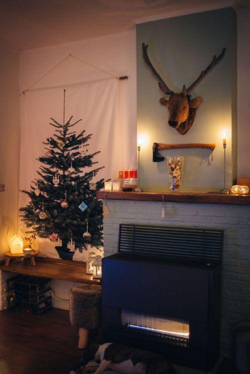 Foto Ide Desain Pohon Natal Paling Kreatif, Indah, dan Lucu 50