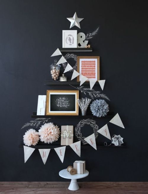 Foto Ide Desain Pohon Natal Paling Kreatif, Indah, dan Lucu 56
