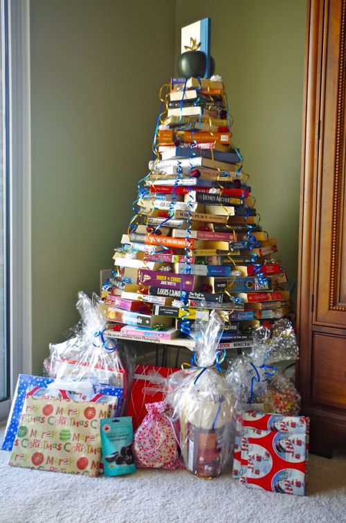 Foto Ide Desain Pohon Natal Paling Kreatif, Indah, dan Lucu 62