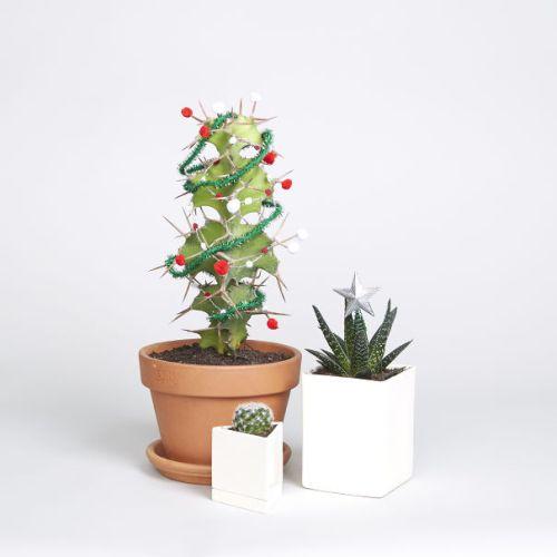 Foto Ide Desain Pohon Natal Paling Kreatif, Indah, dan Lucu 66
