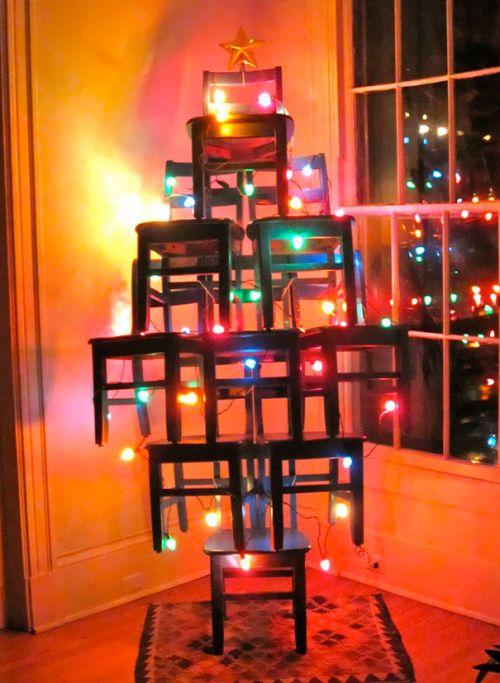 Foto Ide Desain Pohon Natal Paling Kreatif, Indah, dan Lucu 9