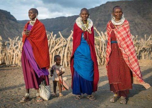 Foto Kehidupan Suku Pedalaman Afrika 1