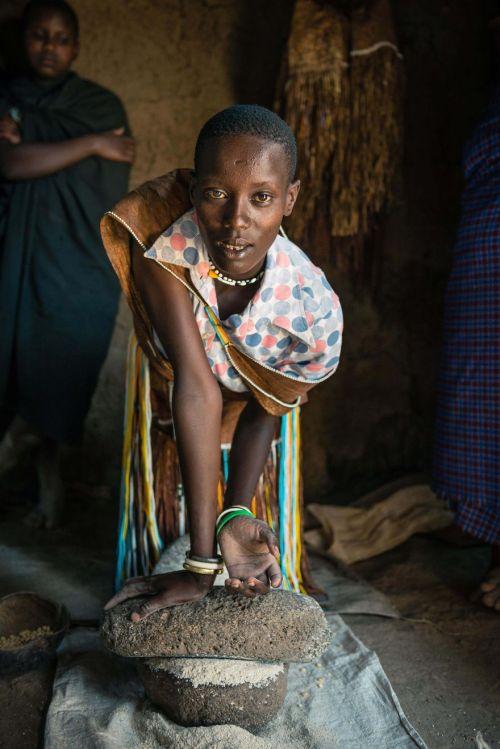 Foto Kehidupan Suku Pedalaman Afrika 12