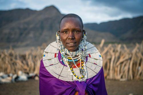 Foto Kehidupan Suku Pedalaman Afrika 14