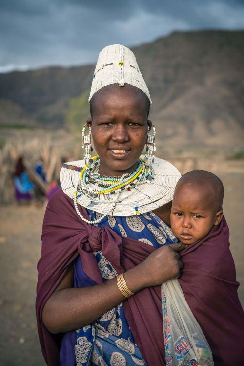 Foto Kehidupan Suku Pedalaman Afrika 16