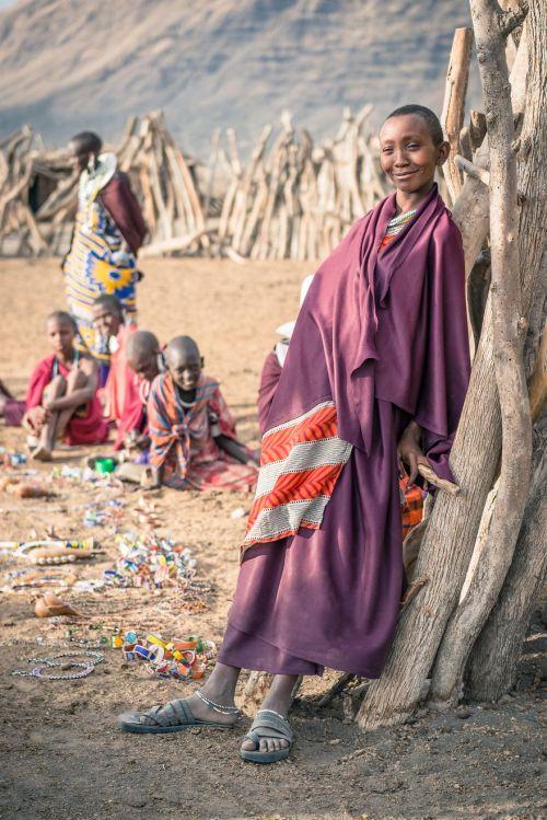 Foto Kehidupan Suku Pedalaman Afrika 17