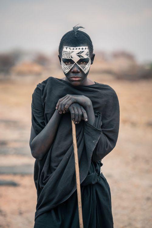 Foto Kehidupan Suku Pedalaman Afrika 2