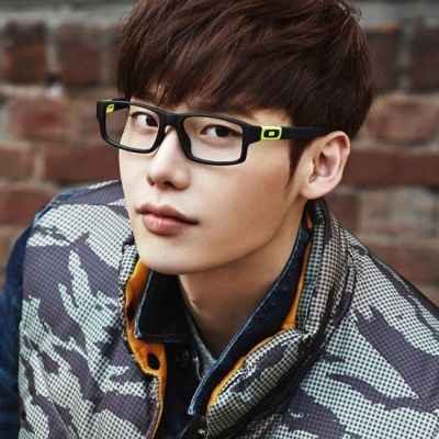 Foto Lee Jong-suk Berkacamata