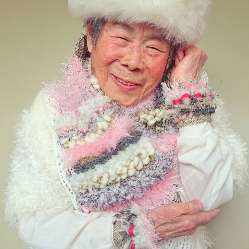 Foto Nenek 93 Tahun Model Instagram 6
