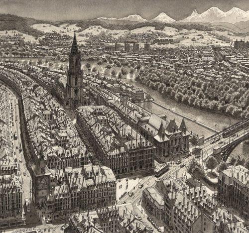 Gambar Ilustrasi Bern, Swiss