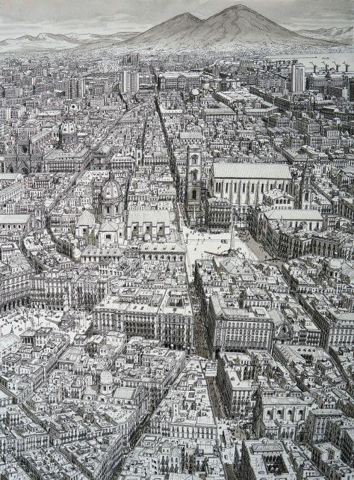 Gambar Ilustrasi Spacca Napoli, Napoli