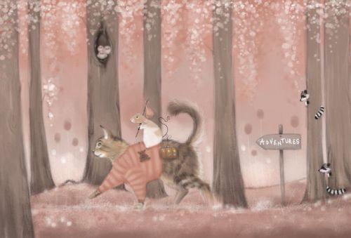 Gambar Ilustrasi Tikus 4