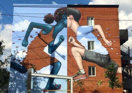 Gambar Mural Raksasa