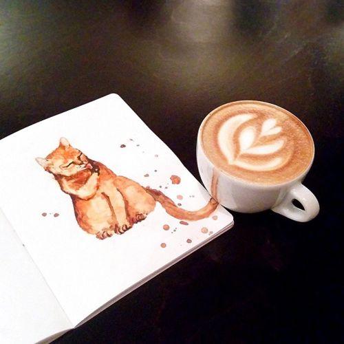 Kucing Latte