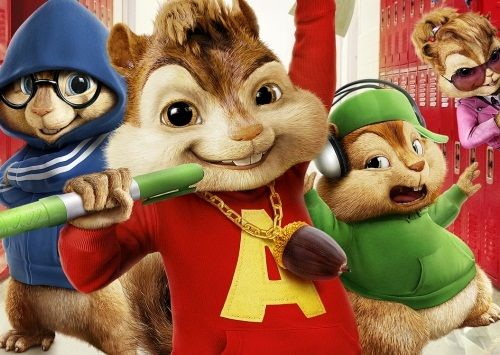 Alvin and the Chipmunks The Squeakquel (2009)