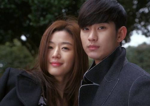 Do Min-joon dan Cheon Song-yi (You Who Came from the Stars) 2
