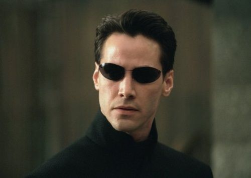 Foto Keanu Reeves Matrix Reloaded