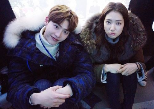Lee Jong-suk Park Shin-hye 3