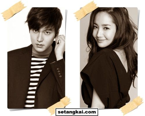 Lee Min-ho dan Park Min-young