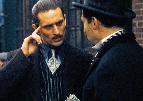 The Godfather Part II De Niro