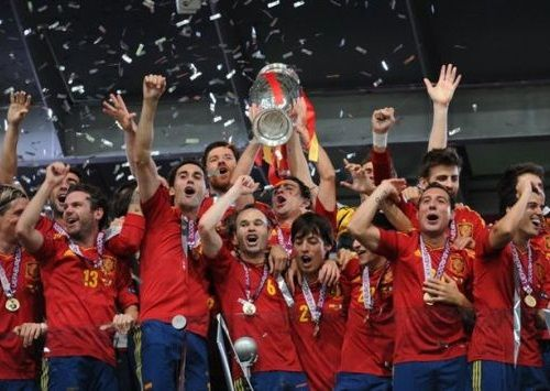 Timnas Spanyol 2008