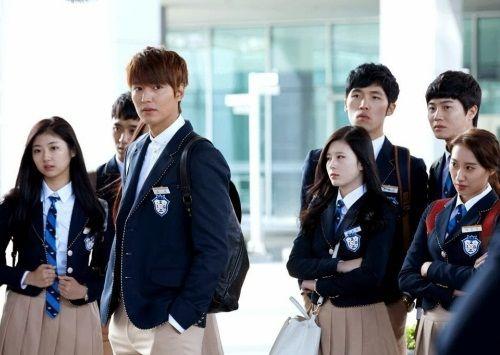 Aktor Korea Berseragam SMA